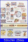 501 cross Stitch Designs by Sam Hawkins for American School of Needleworks - 1994-9-patriotic-3-jpg