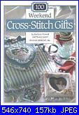 100 weekend Cross Stitch Gift by B.Finwall e N.Javier 1993-cross-jpg