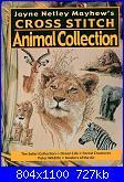 Cross Stitch Animal Collection - Jayne Netley Mayhew-crossstitchanimalcollectionbyjaynenetleymayhews001-jpg