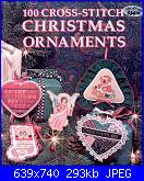 100 Cross-Stitch Christmas Ornaments - Carol Siegel - 1991-100-jpg