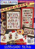 Cross Country Stitching - Alphabets - feb 1997-cover-jpg