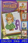 Ambientes en punto de cruz coleccion iniciales infantiles - 2006-ambientes-en-punto-de-cruz-coleccion-iniciales-infantiles-jpg