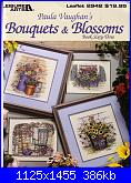 Leisure Arts 2942 - Paula Vaughan's  Bouquets & blossoms Book 63-1997-cover-jpg