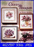 American School of Needleworks 3680 - Country bouquets - Terrece Beesley-3680-country-bouquets-jpg