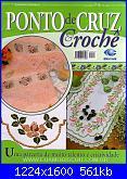 Ponto Cruz e Crochê - Nº 6 - 2006-capa001-jpg