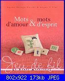 Le Temps Apprivoisé - Mots d'amour & Mots d'esprit  - Jeu de fil - 2011-cover-jpg
