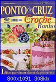 Ponto de Cruz e Crochê - Nº 19 - 2008-cover-19-2008-jpg