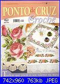 Ponto Cruz e Crochê - Nº 22 - 2009-digitalizar0001-jpg