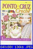 Ponto de Cruz e Crochê - Nº 26 - 2009-capa-jpg