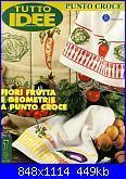 Tutto Idee Punto Croce 57 - Fiori, frutta e geometrie a punto croce - 1997-cover-jpg