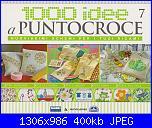 1000 idee a punto croce - ED. FABBRI N. 7 - 2011-img_20130222_0001-jpg