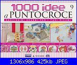1000 idee a punto croce - ED. FABBRI N. 9 - 2011-img_20130223_0001-jpg