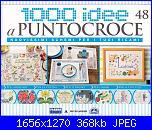 1000 idee a punto croce -  ED. FABBRI  N. 48 -  gen 2012-cover-jpg