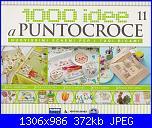 1000 idee a punto croce - ED. FABBRI N. 11 - 2011-cover-11-jpg