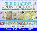 1000 idee a punto croce - ED. FABBRI N. 12 - 2011-cover-12-jpg
