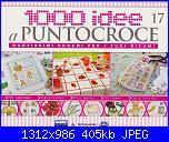 1000 idee a punto croce - ED. FABBRI N. 17 - 2011-img_20130308_0001-jpg