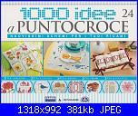 1000 idee a punto croce - ED. FABBRI N. 24 - 2011-img_20130317_0001-jpg
