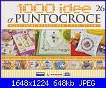 1000 idee a punto croce - ED. FABBRI N. 26 - 2011-img_20130407_0001-jpg
