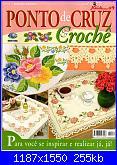 Ponto Cruz e Crochê - Nº 24 - 2009-0-ponto-jpg