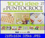 1000 idee a punto croce - ED. FABBRI N. 27 - 2011-img_20130414_0001-jpg