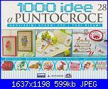 1000 idee a punto croce - ED. FABBRI N. 28 - 2011-28-1-cover-jpg