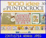 1000 idee a punto croce - ED. FABBRI N. 30 - 2011-img_20130512_0001-jpg