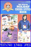 Leisure Arts 2999 - Looney Tunes - The Official Holiday Cross Stitch Book - 1997-leisure-arts-2999-looney-tunes-official-holiday-cross-stitch-book-1-jpg