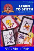 Leisure Arts 2972 - Looney Tunes Learn to Stitch - 1997-leisure-arts-2972-looney-tunes-learn-stitch-1-jpg