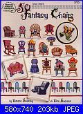 American School of Needlework - 3733 - 50 Fantasy Chairs - Beesley & Boerens - 2000-american-school-needlework-3733-50-fantasy-chairs-beesley-boerens-2000-1-jpg
