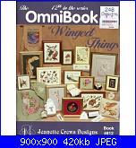 Jeanette Crews Designs 812 - The Omnibook of Winged Things - 1996-jeanette-crews-designs-812-omnibook-winged-things-1996-jpg