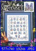 Leisure Arts - 3382 Forest Friends Alphabet - Donna Vermillion Giampa - 2002-leisure-arts-forest-friends-alphabet-donna-vermillion-giampa-2002-jpg