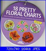 The World of Cross Stitching 162 - Allegato: 18 Pretty Floral Charts - gen 2010-world-cross-stitching-162-18-pretty-floral-charts-jpg