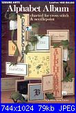 Leisure Arts - Leaflet 162 - Alphabet Album-leisure-arts-0162-alphabet-album-jpg