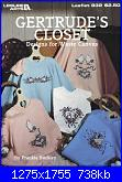 Leisure Arts Leaflet 832 Geltrude's Closet-cover-jpg