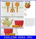 Delizia punto croce 1 - Allegria in cucina *-img150-jpg