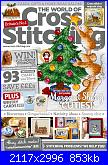 The World of Cross Stitching 261 -  dic 2017-cover-jpg