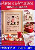 Mains & Merveilles 120 - Des fleurs à faison - mag-giu 2017-cover-jpg