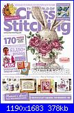 The World of Cross Stitching 267 - mag 2018-cover-jpg