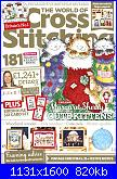 The World of Cross Stitching 274 - dic 2018-cover-jpg
