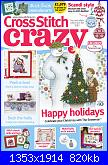 Cross Stitch Crazy 249 - dic 2018-cover-jpg