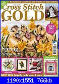 Cross Stitch Gold 154 - feb 2019-cover-jpg