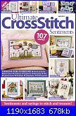 Ultimate Cross Stitch - Sentiments - Vol. 2 - 2014-cover-jpg