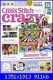 Cross Stitch Crazy 257 - ago 2019-cover-jpg