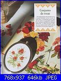 Labores con estilo - Rosas a Punto De Cruz *-2-jpg