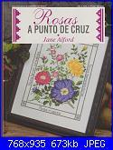 Labores con estilo - Rosas a Punto De Cruz *-jpg