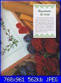 Labores con estilo - Rosas a Punto De Cruz *-6-jpg