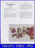 Labores con estilo - Rosas a Punto De Cruz *-11-jpg