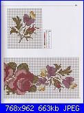 Labores con estilo - Rosas a Punto De Cruz *-12-jpg