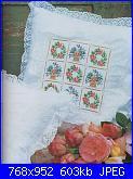 Labores con estilo - Rosas a Punto De Cruz *-18-jpg