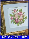Labores con estilo - Rosas a Punto De Cruz *-25-jpg